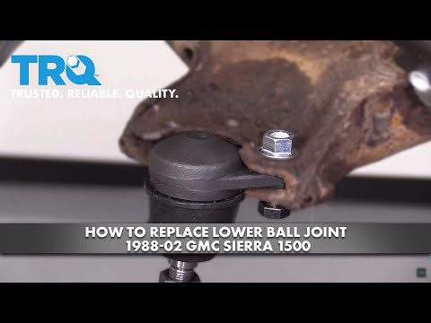 How to Replace Lower Ball Joint 1988-02 GMC Sierra 1500