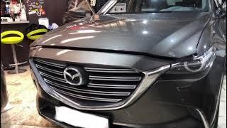 Новинка Mazda CX-9 Мониторы для детей на Андроиде с установкой в СПб