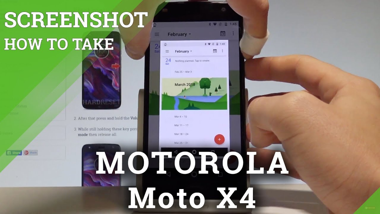 how to take screenshot on motorola