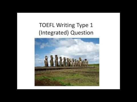 Actual TOEFL Type 1 Writing (Integrated) Question