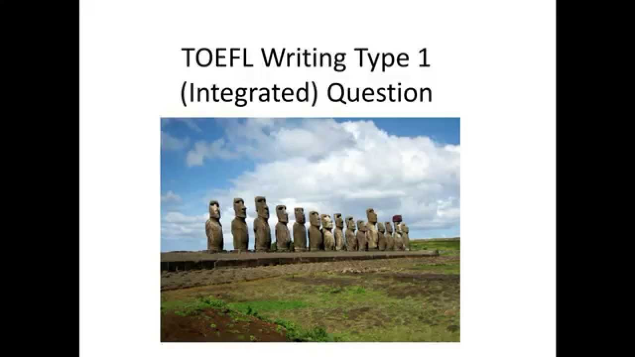 toefl essay youtube Although there is a wealth of toefl writing material on the internet, a lot of it is of dubious quality the best resource for independent essay questions is the official guide, which includes fifteen pages of sample topics from past exams.