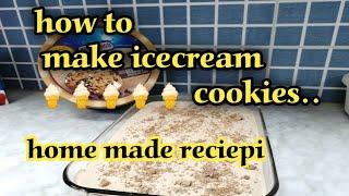 How to make HOMEMADE ICECREAM COOKIES??