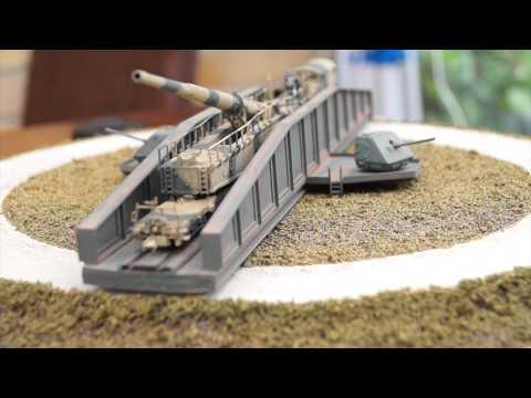 Hammerschlagg – an N Gauge (1:144 scale) Leopold railway gun layout by Jason Pierce