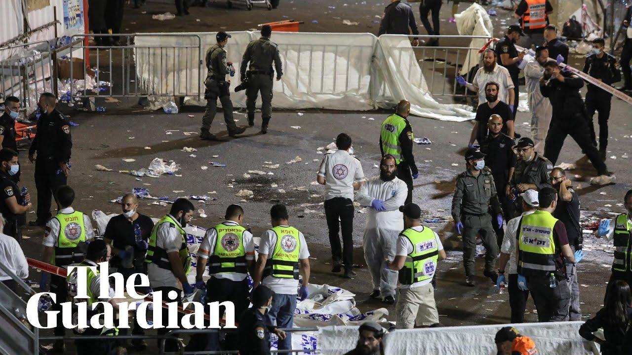 Chaotic scenes as crush kills dozens at religious festival in Israel