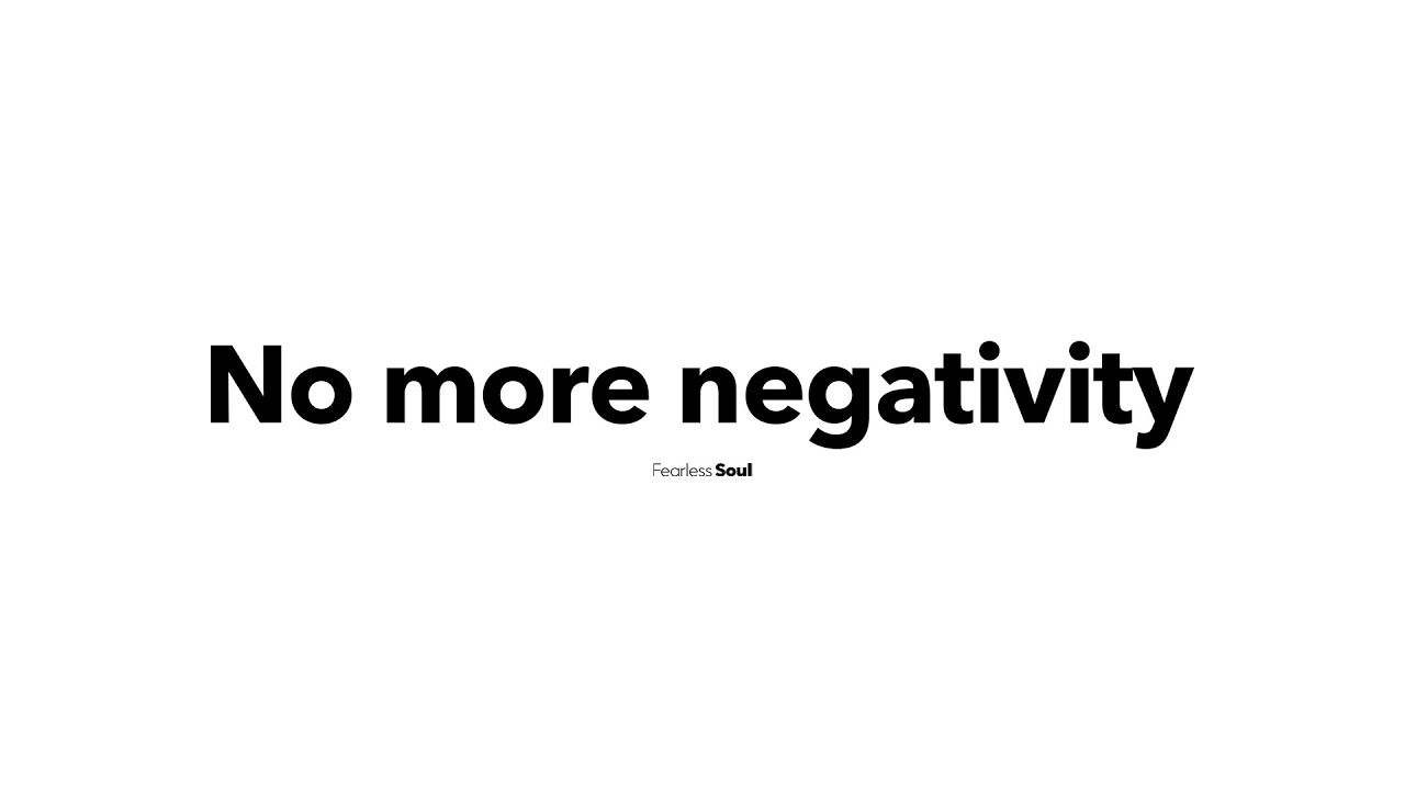 Try NOT To Feel Joy When You Listen To This Song (IT IS IMPOSSIBLE) - No More Negativity Song