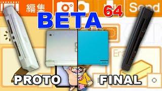 Beta64 - DSi / Flipnote Studio / WarioWare: Snapped!