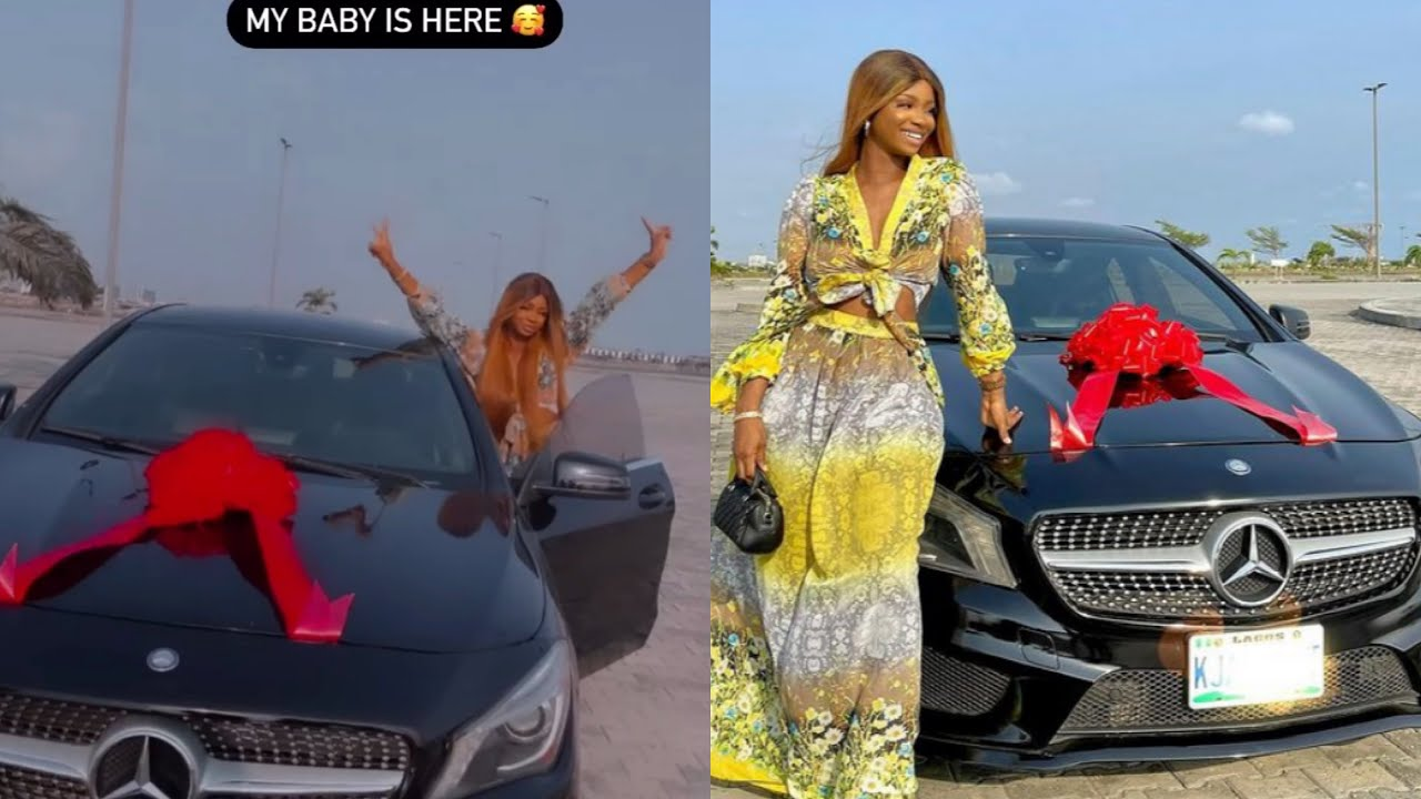 NOLLYWOOD ACTRESS IYABO OJO's 19YEARS OLD DAUGHTER BUYS HERSELF A SMALL BENZ  - YouTube