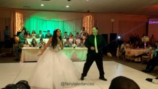 Juju on dat beat quinceanera father daughter dance | fairytale dances