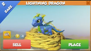 ❤ How to breed RARE LIGHTNING Dragon. Dragon Mania Legends. LIGHTNING dragon hatched
