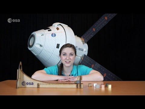 Spacecraft materials kit - classroom demonstration video, VPR07a