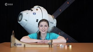 Spacecraft materials kit - classroom demonstration video, VPR07a