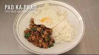 Pad Ka-prao - Spicy Thai Basil Stir Fry