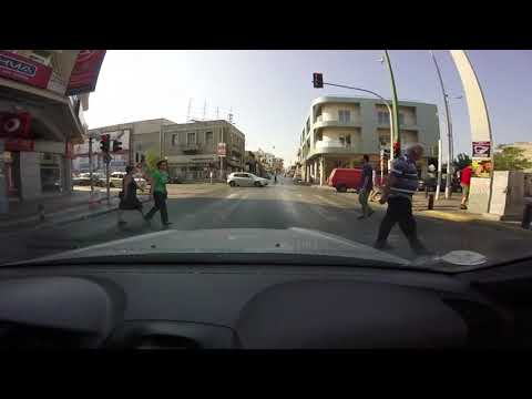 Driving in Athens, Greece 31