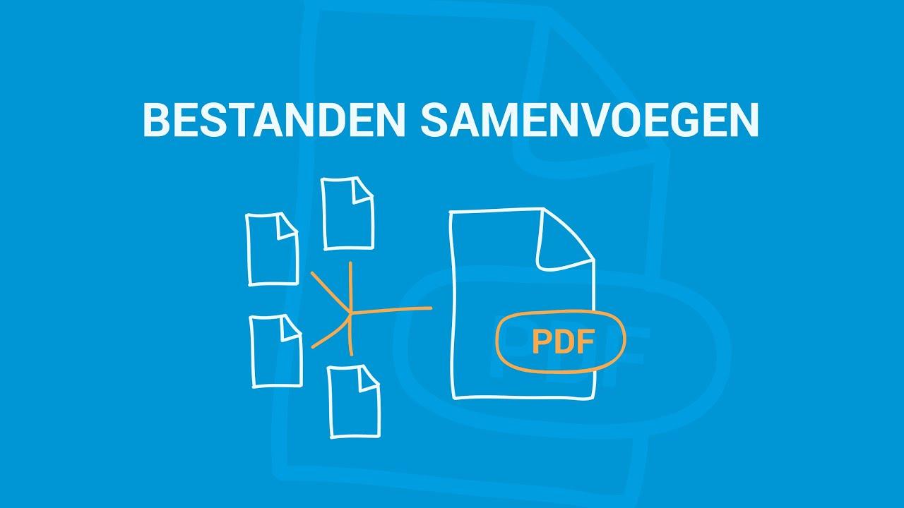 Meerdere Bestanden Samenvoegen Naar één PDF