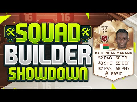 FIFA 16 SQUAD BUILDER SHOWDOWN!!! LEGEND RAHERIHARIMANANA!!! SBSD Legend Squad Duel
