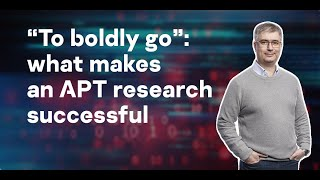 """""""To boldly go"""": what makes an APT research successful"""