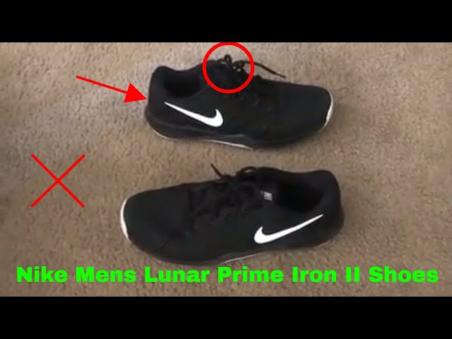 the latest 229ed 88496 ✅ How To Use Nike Mens Lunar Prime Iron II Shoes Review - YouTube
