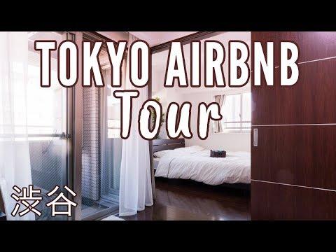 Tokyo Apartment Tour | Shibuya AirBNB