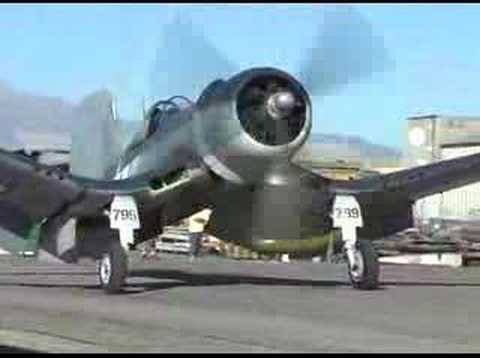 "F4U Corsair ""Whistling Death"" Flight Demonstration !"