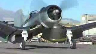 f4u corsair whistling death flight demonstration