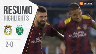 Alverca 2-0 Sporting Highlights (Portuguese Cup 19/20 Round 3)