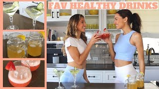 3 Healthy LOW CALORIE Cocktail Recipes
