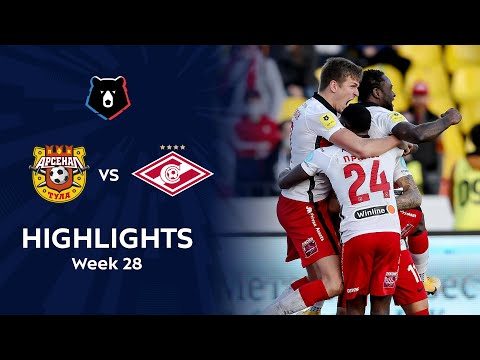 Arsenal Tula Spartak Moscow Goals And Highlights