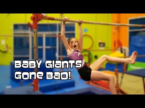Baby Giants Gone Bad! | Gymnastics With Bethany G
