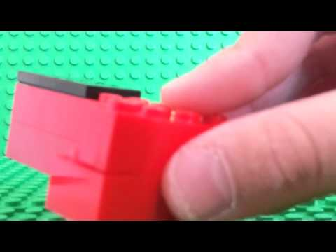 How to make a Lego supermarket checkout