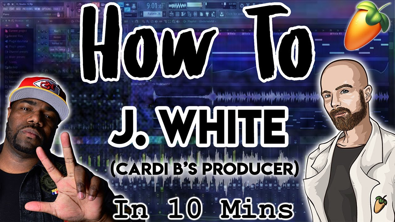 From Scratch: A J White Did It Type Track (Cardi B Producer) in 10 Minutes