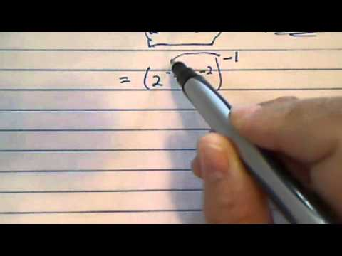 how to solve improper fraction exponents