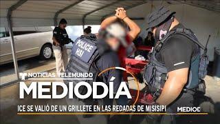 Redadas de ICE en Mississippi: Todo gracias a un grillete | Noticias Telemundo