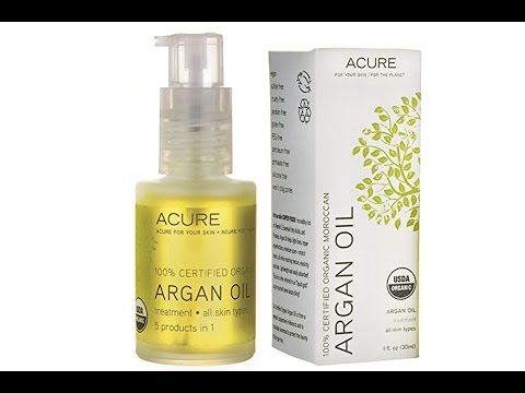Acure Organics Moroccan Argan Oil for face