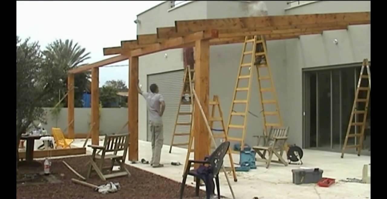 Dome4home Pergola Gazebo Decks דום4הום Youtube
