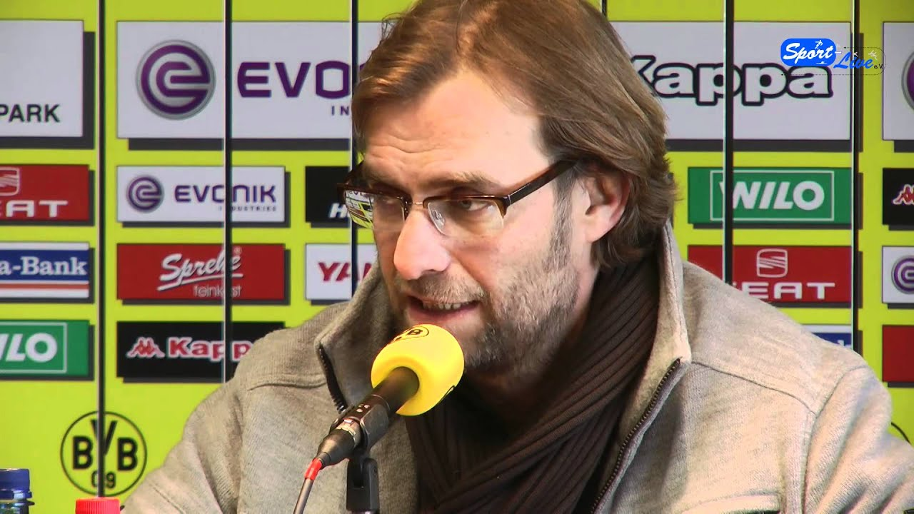 Borussia Dortmund - Holstein Kiel DfB-Pokal Pressekonferenz 06.02.2012 Teil 1