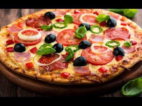 Cách tự làm bánh pizza tại nhà bằng chảo