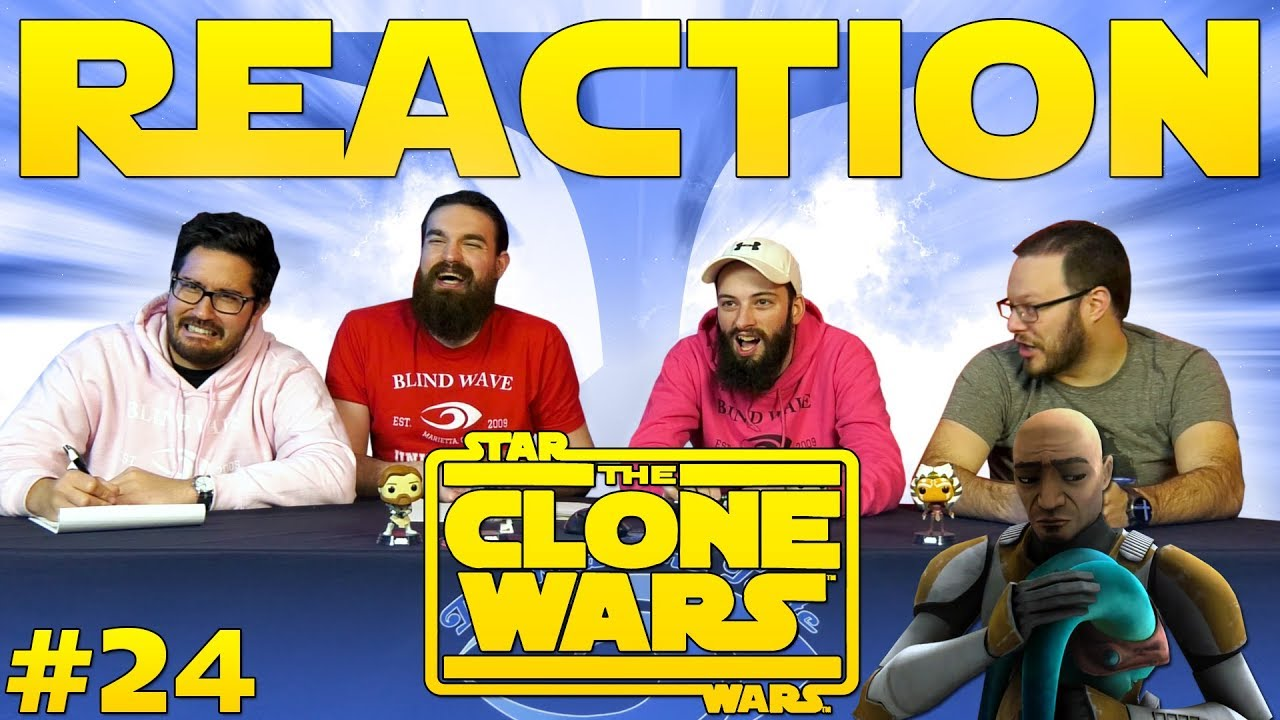 Star Wars: The Clone Wars #24 REACTION!!