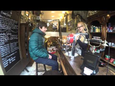 Gentlemen's Barbershop Amsterdam with the Gopro4 silver