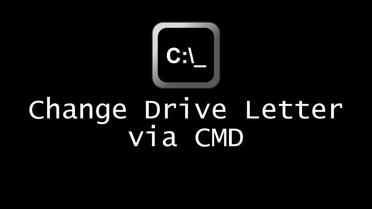 how to change drive letter change drive letter using command prompt 22260