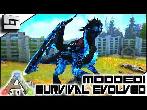 MODDED ARK: Annunaki Genesis - TAMING A FROST DRAKE! E33 ( Gameplay )