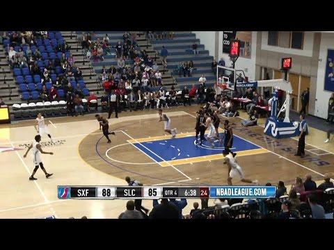 Joel Bolomboy posts 18 points & 12 rebounds vs. the Skyforce, 12/30/2016