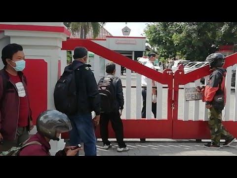 Breaking News 1 Warga MD Mendadak Di Kantor Samsat Sragen Jawa Tengah, Rabu 8 April 2020