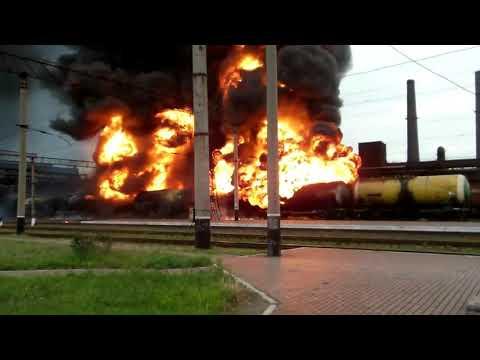 Крушения поездов, пожары