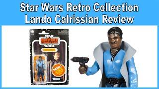 Star Wars Retro Collection Lando Calrissian Review - Walmart Exclusive