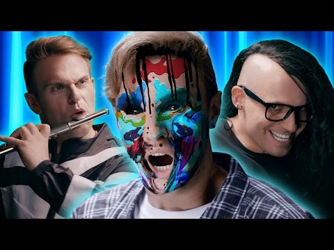 "Skrillex and Diplo - ""Where Are You Now"" with Justin Bieber PARODY"