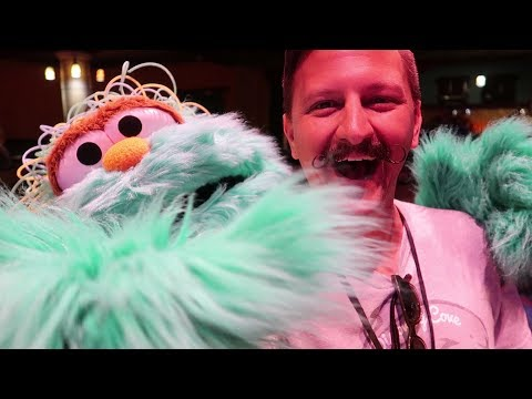 We Had Breakfast With The Sesame Street Monsters | Character Breakfast At SeaWorld Spooktacular