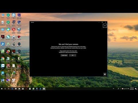 Sửa Lỗi Camera Không Hoạt động Trên Windows 10 - Error Code 0xA00F4244 (0xC00D36D5)