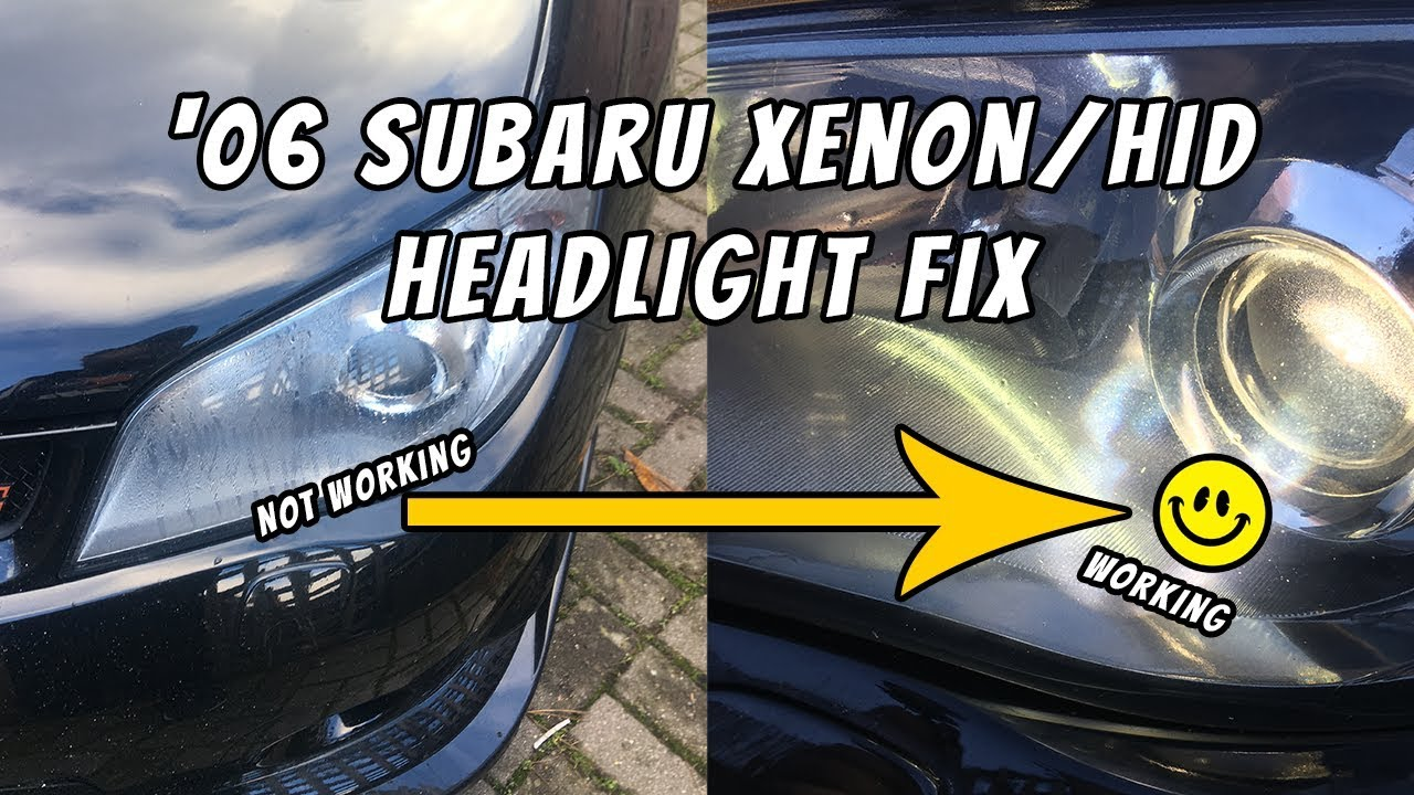 Subaru Hawkeye WRX/STI - HID/Ballast Repair/Replacement 😭 | Project Mona 🔧