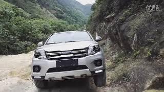 Haval H5 new. Китайцы тестируют проходимость с вывешиванием авто.