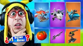 RANDOM **GLIDER** Skin CHALLENGE #2 in Fortnite Battle Royale (Random Delta Wing Challenge)